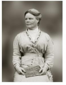 Mt Victoria teacher Annie Freeman (date unknown), Chilton St James Archives