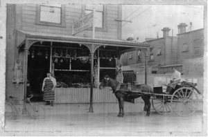 James Farley was a butcher on Marjoribanks Street in the early 20th century.