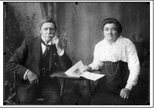 James and Charlotte Mouat - lived at 28 Marjoribanks Stl