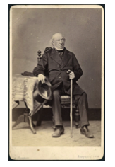 Rev FT Sherriff was an Anglican deacon who lived at 11 Brougham Street.  Rev Sherriff between 1874 and 1879 Alexander Turnbull Library PA2-1776