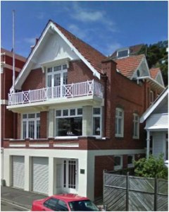Former residence of William Kembell. 298 Oriental Parade. Google StreetView, 2012.