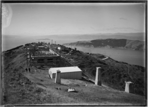 2YA under construction 1927.  Alexander Turnbull Library EP-0997-1/2-G