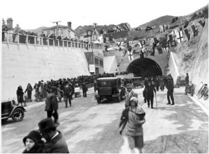 Opening of Mount Victoria traffic tunnel, 12 October 1931